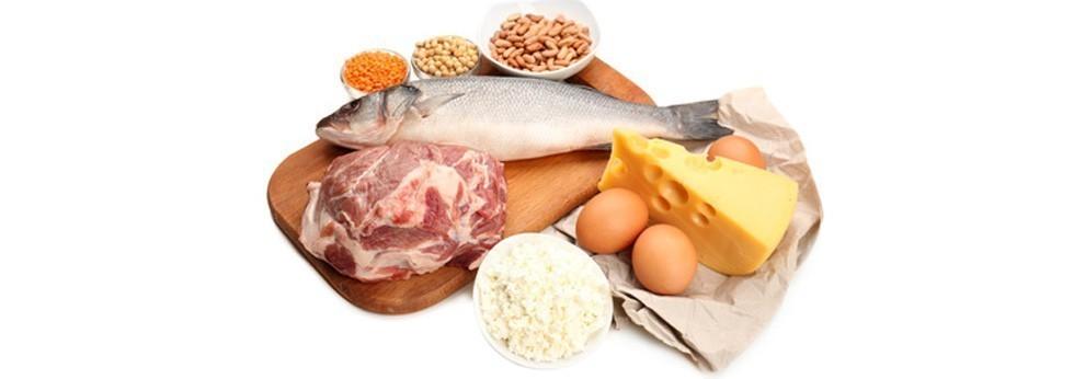 Plat regime protéines